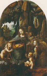 Virgin on the Rocks. Leonardo Da Vinci.