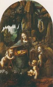 Virgin on the Rocks. Leonardo Da Vinci.