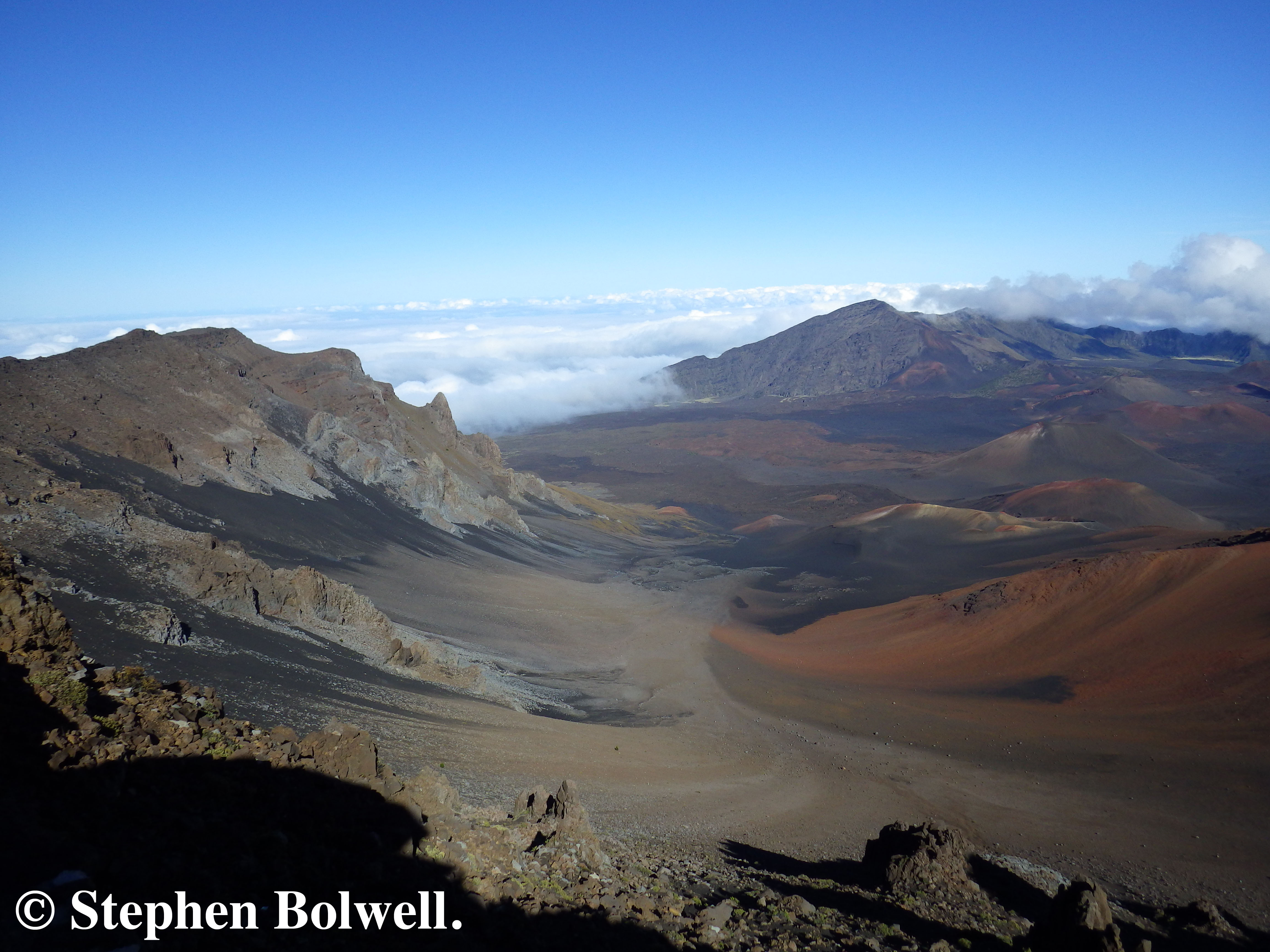 At the top of Haleakala the landscape is hardly a tropical paradise, but it is enchanting.