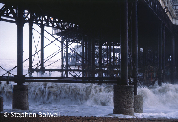 When you consider that the cast iron super-structure of a Victorian pier has spent half of the last 100 to 150 years under sea water and has withstood the pounding of northern coastal sea conditions it is a wonder that any remain standing and certainly those that remain are a tribute Victorian engineering .
