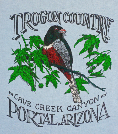 I still have the Trogon T-shirt.