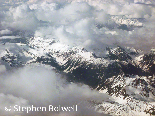 As you fly north east out of Vancouver, it isn't long before you are over wilderness