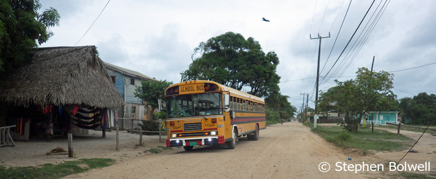 Hopkins may still run along a dusty track, but every child has a place in school which must be good for the future of Belize.